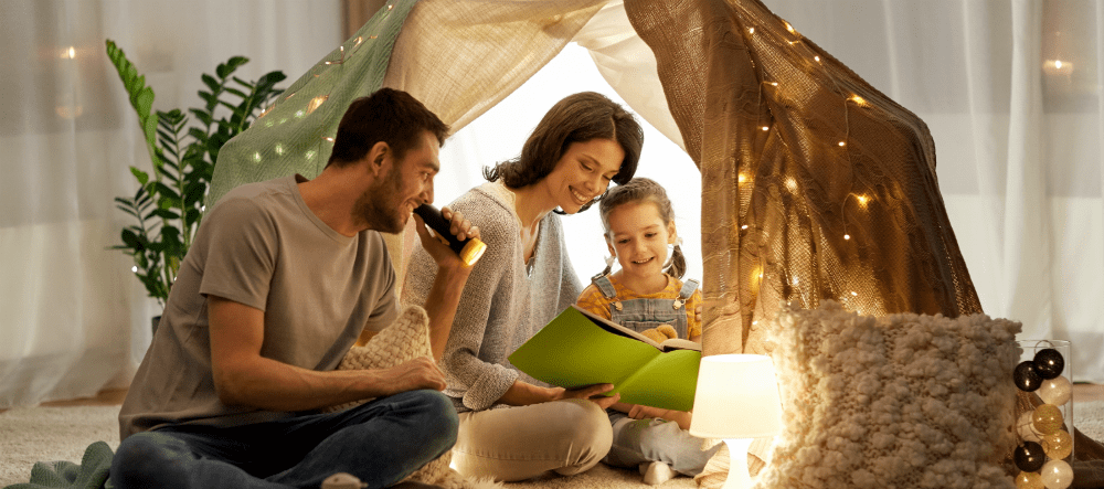 Income protection insurance - is it really worth it Family reading book together