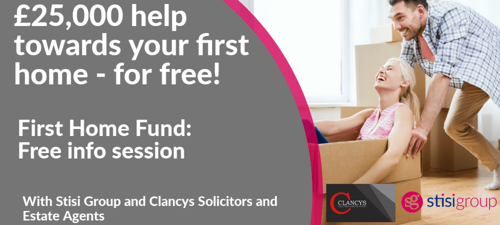 First Home Fund - free information session for first-time buyers