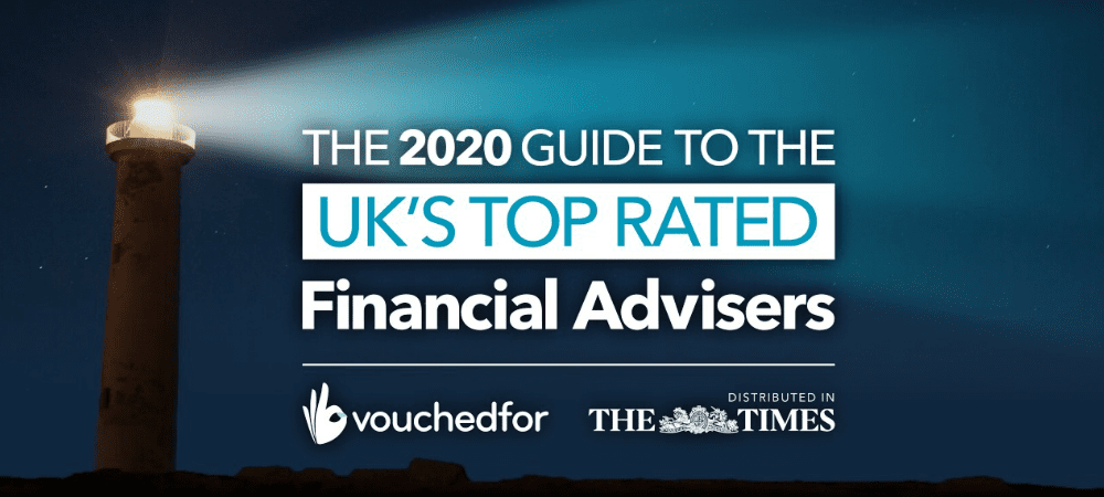 VouchedFor 2020 Guide to the UK's Top Rated Financial Advisers